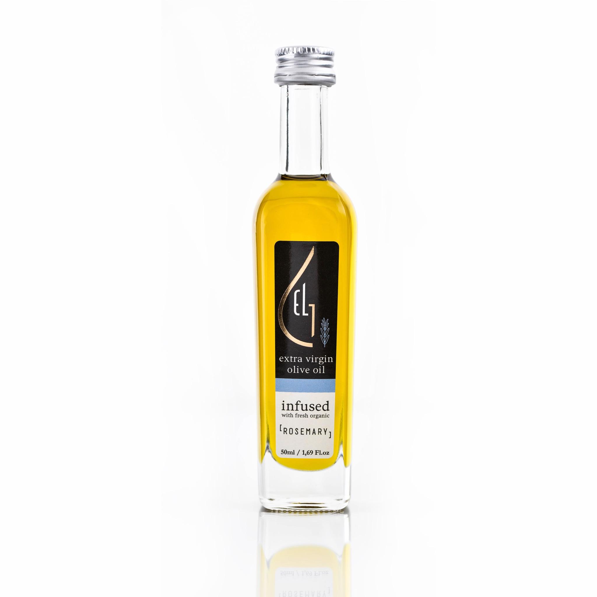 Pellas Nature Rosemary infused Olive Oil 1.69 oz Bottle