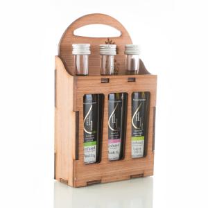 Pellas Nature 3L infused Olive Oil Wooden Gift Set