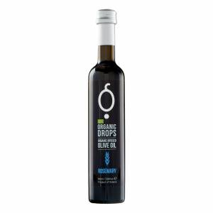 Organic Drops Rosemary Olive Oil 3.38 fl.oz Bottle