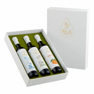 """The Greek Collection"" infused Extra Virgin Olive Oil Gift Box"