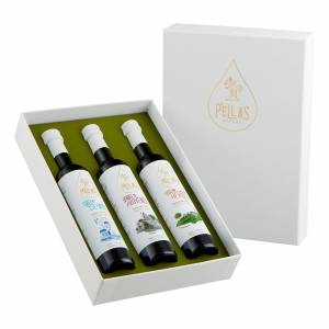 """The Mediterranean Collection"" infused Extra Virgin Olive Oil Gift Box"