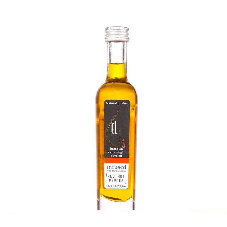 Pellas Nature Red Hot Pepper infused Olive Oil 1.69 oz Bottle
