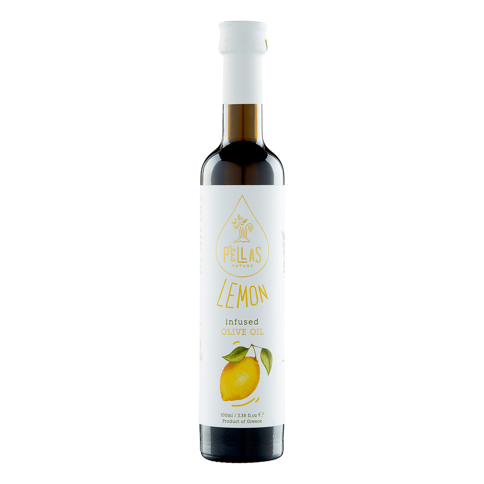 Pellas Nature Lemon infused Extra Virgin Olive Oil 3.38 fl.oz Bottle