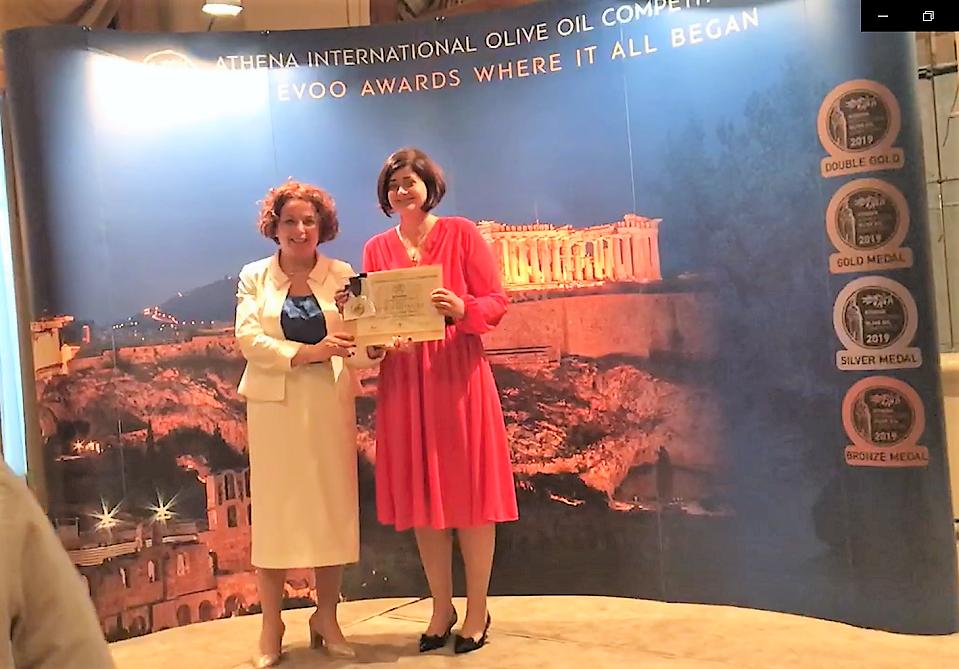Gold Medal at Athena IOOC 2019