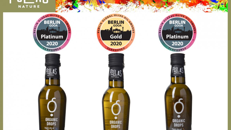 Two Platinum Awards and One Gold Award at Berlin GOOA 2020