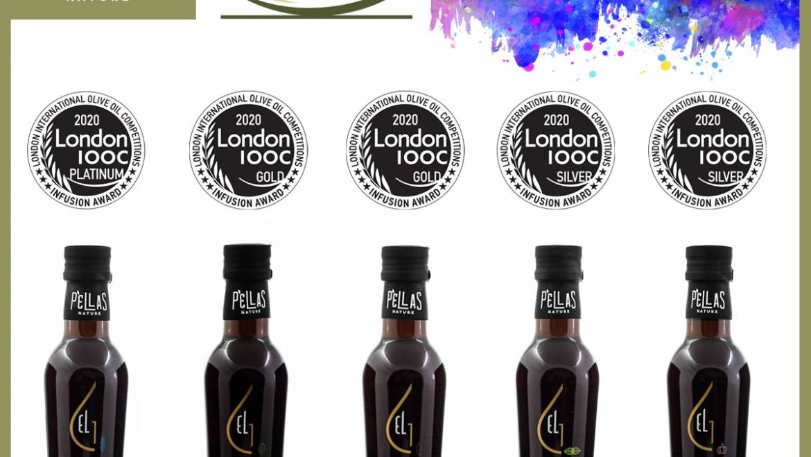 One Platinum, two Gold and two Silver Awards at London IOOC 2020