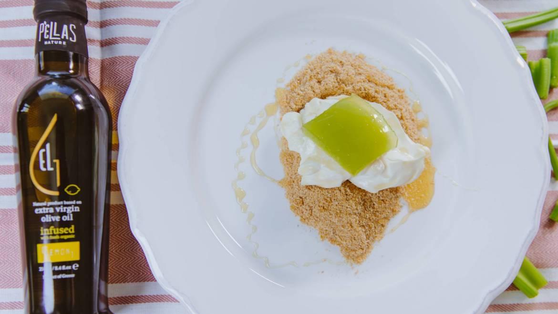 Celery Lemon Cheesecake