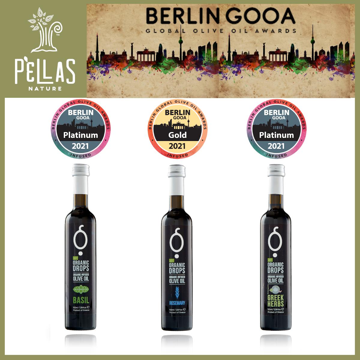 Two Platinum Awards and One Gold Award at Berlin GOOA 2021